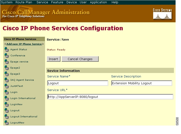 Configuring Cisco CallManager Extension Mobility